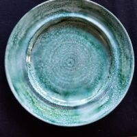 Just Teals Accessory Dishes - Alcohol Ink Tile Art - Dragonflys Wings