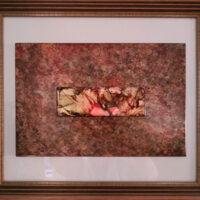 Arabian Days - Alcohol Ink Tile Art - Dragonflys Wings
