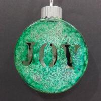 Joy - Ceramic Lightup Ornament - Dragonflys Wings