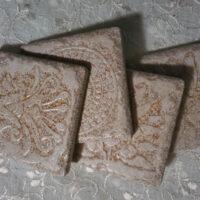 Beige Set - Coaster Set - Dragonflys Wings