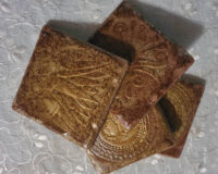 Bronze Set - Coaster Set - Dragonflys Wings