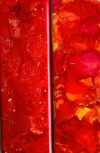 2x6 - Red Hot 1 & Red Hot 2 - UnFramed Tiles - Dragonflys Wings