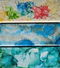 3x8 Gumdrops, Sky Blue, Teel Dreams - UnFramed Tiles - Dragonflys Wings
