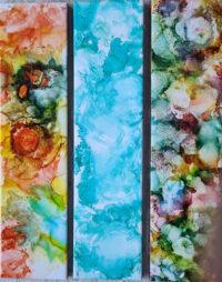 4x16 - Spacious Multibar, Blue Cloud Bar, Multibar - UnFramed Tiles - Dragonflys Wings