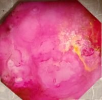 4x4 Sizzling Pink - Individual Coaster - Dragonflys Wings