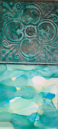6x6 Daytripping & Imprint - UnFramed Tiles - Dragonflys Wings