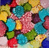 6x6 Speckled Balloons - UnFramed Tiles - Dragonflys Wings