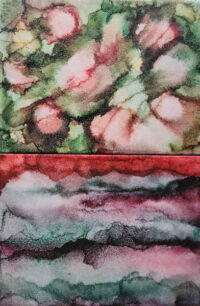 6x8 Autumn's Coming & Landscape Red - UnFramed Tiles - Dragonflys Wings