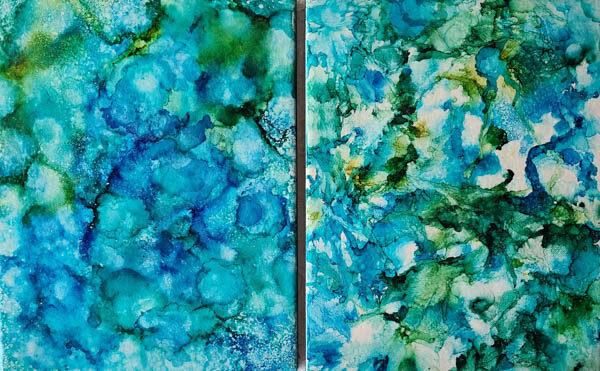 8x10 - Garden & Water - UnFramed Tiles - Dragonflys Wings