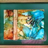 Butterfly - Framed Tiles - Dragonflys Wings