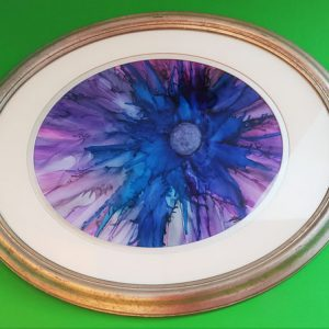 Eyes of Blue - Framed Yupos - Dragonflys Wings