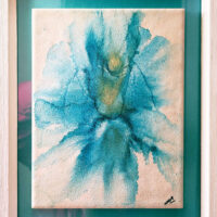 Hope - Framed Tile - Dragonflys Wings