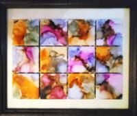 Petals - Framed Tiles - Dragonflys Wings