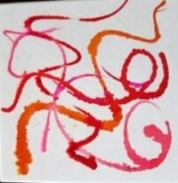 Happy Dance - Alcohol Ink Art Tile - Dragonflys Wings